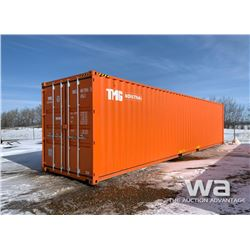 2019 8 X 40 FT. HIGH CUBE SHIPPING CONTAINER