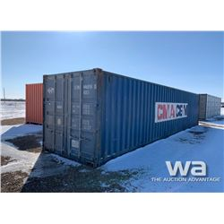 8 X 40 FT. SHIPPING CONTAINER