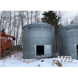 WESTSTEEL ROSCO 1650 BUS. GRAIN BIN