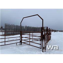 (18) PANELS & (4) 8 FT. WALK THROUGH GATES