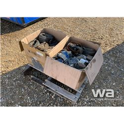 (2) BOX OF E-TRACK LOAD STRAPS