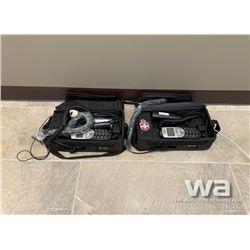 (2) TELUS MOTOROLA F289603NAAD BAG PHONE