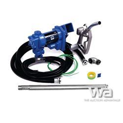 (UNUSED) BLUE VIPER 20 GPM FUEL TRANSFER PUMP