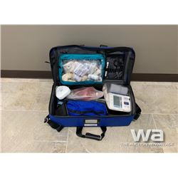 EQUIPPED EMERGENCY MEDICAL JUMP KIT