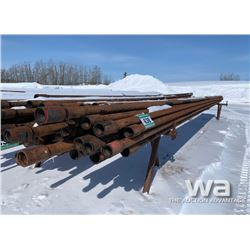 30 FT. LENGTH 2 7/8 W (35) PCS DRILL PIPE
