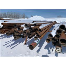 30 FT. LENGTH 2 7/8 W (36) PCS DRILL PIPE