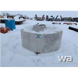 UFA 800 GAL. WATER TANK