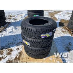 (4) GRIZZLY 265/70R17 TIRES