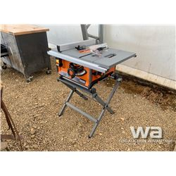 "RIDGID R45171 10"" TABLE SAW"