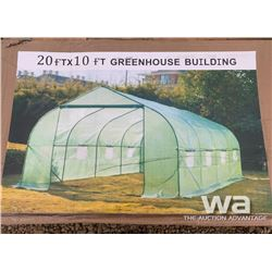 10 X 20 FT. GREENHOUSE BUILDING