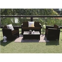 (4) PIECE OUTDOOR FURNITURE SET