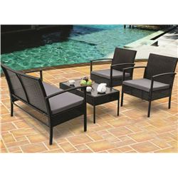 (4) PIECE OUTDOOR PATIO SET