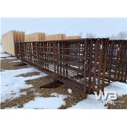 (5) FREESTANDING 6 X 24 FT. LIVESTOCK PANELS