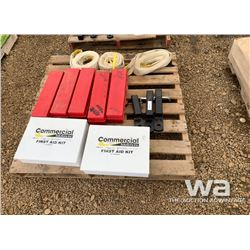TOW ROPES, RECIEVER HITCHES, FIRST AID KITS