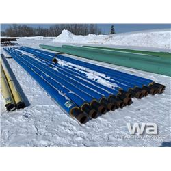 "(12) PCS 6"" X 62' INSULATED PIPE"