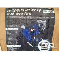(UNUSED) 20 GPM FUEL TRANSFER PUMP