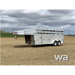 2001 WW STOCKMAN T/A STOCK TRAILER