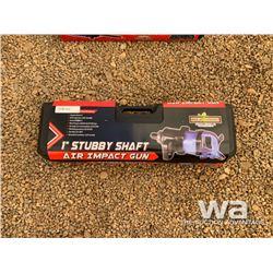 """STUBBY SHAFT 1"""" AIR IMPACT GUN"""