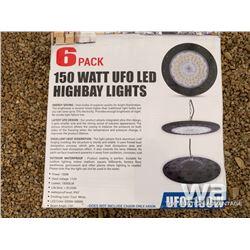SOLIDFIRE UFOE150W 150W LED HIGH BAY LIGHTS