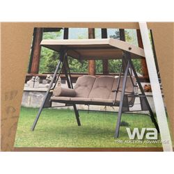 MOONLIGHT DELUXE 3 SEAT CANOPY PORCH SWING