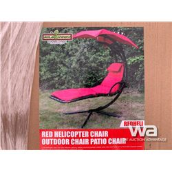 (UNUSED) RED HELICOPTER CHAIR