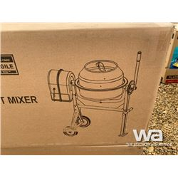 3.5 CUBIC FT. CEMENT MIXER