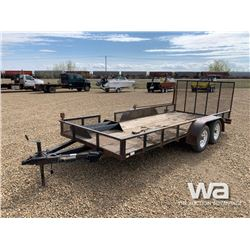 2006 FOREST RIVER 616 T/A CAR HAUL TRAILER