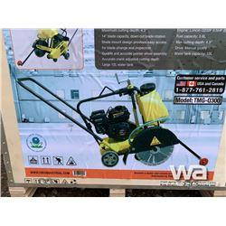 """(UNUSED) TMG Q300 14"""" CONCRETE FLOOR SAW"""