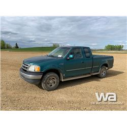 1999 FORD F150 E-CAB PICKUP