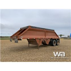 1997 MIDLAND MG29 T/A GRAVEL TRAILER