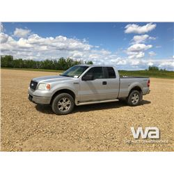 2008 FORD F150 E-CAB PICKUP