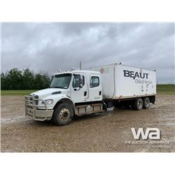 2011 FREIGHTLINER CREW CAB T/A BOILER TRUCK