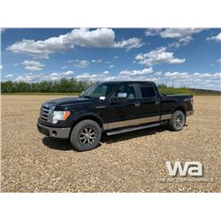 2010 FORD F150 CREW CAB PICKUP