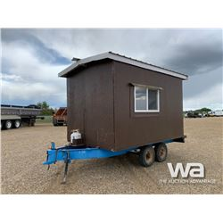 8 X 14 FT. PORTABLE HUNTING CABIN