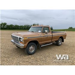1979 FORD F250 CUSTOM PICKUP