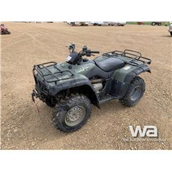 2001 HONDA FOURTRAX ES 350 ATV