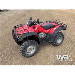 2007 HONDA FOURTRAX AT TRAIL EDITION ATV