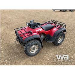 1999 HONDA FOREMAN 400 ATV