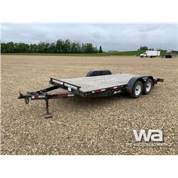 2013 SWS T/A CAR HAULER TRAILER