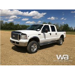 2007 FORD F350 CREW CAB PICKUP