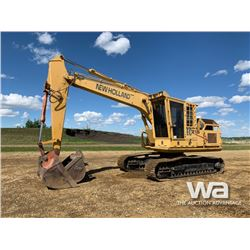 2006 NEW HOLLAND 215 HYD. EXCAVATOR