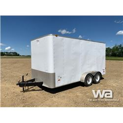 2010 AMERICAN OB714TR2 T/A ENCLOSED TRAILER