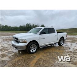 2011 DODGE 1500 CREW CAB PICKUP