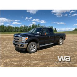 2013 FORD F250 E-CAB PICKUP