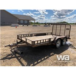 2012 LOAD TRAIL T/A UTILITY TRAILER