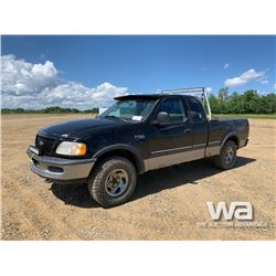 1997 FORD F150 E-CAB PICKUP