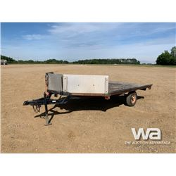 TRAILTECH S/A SNOWMOBILE TRAILER