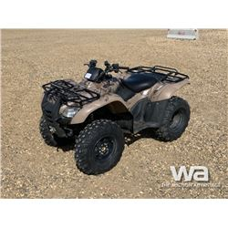 2009 HONDA FOURTRAX ES TRX420 ATV
