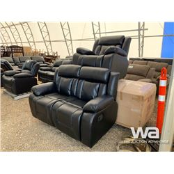 (3) PIECE RECLINING SOFA WITH LOVESEAT & CHAIR
