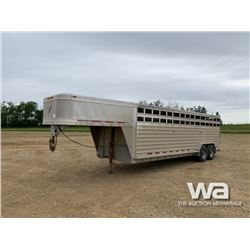 2009 FEATHERLITE T/A STOCK TRAILER